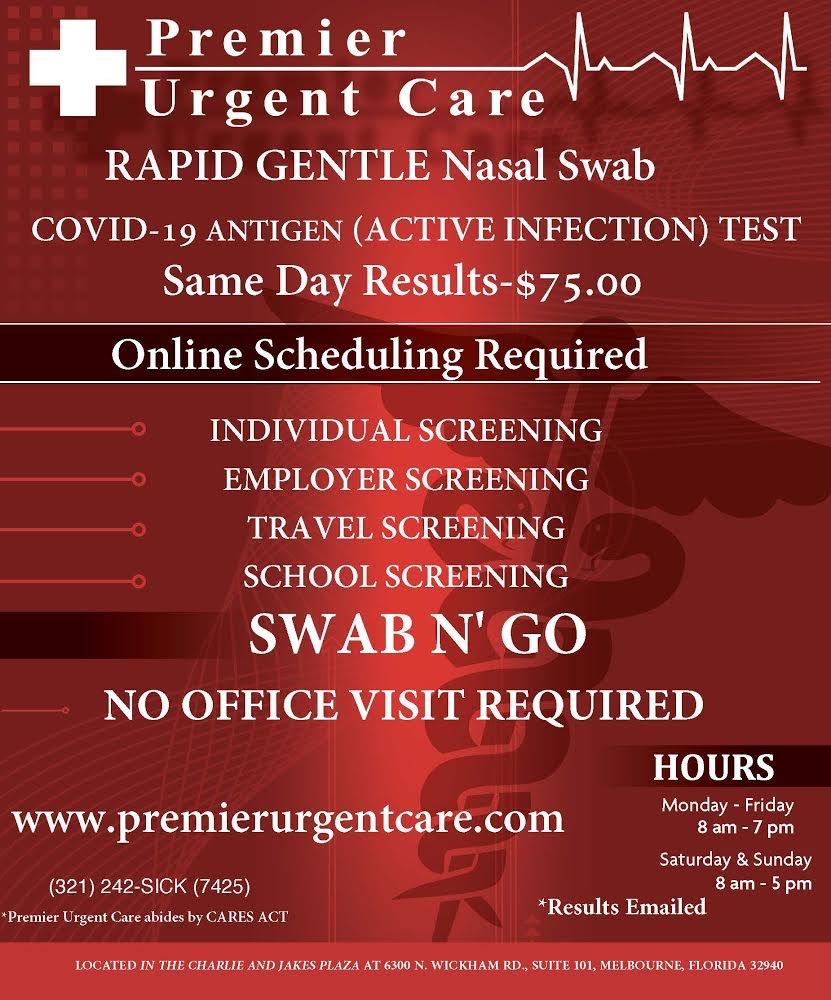 Premier Urgent Care Located In Suntree